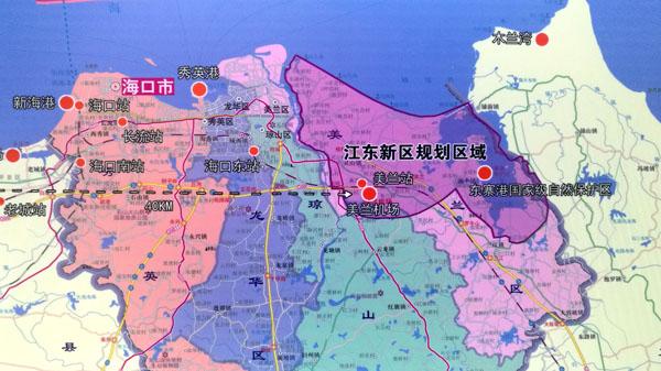 海口江东新区规划图【相关词_ 海口市江东新区规划图】